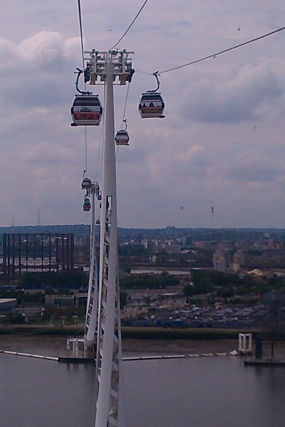 Emirate Air cable car in London