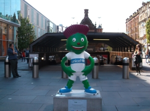 Clyde, the official mascot